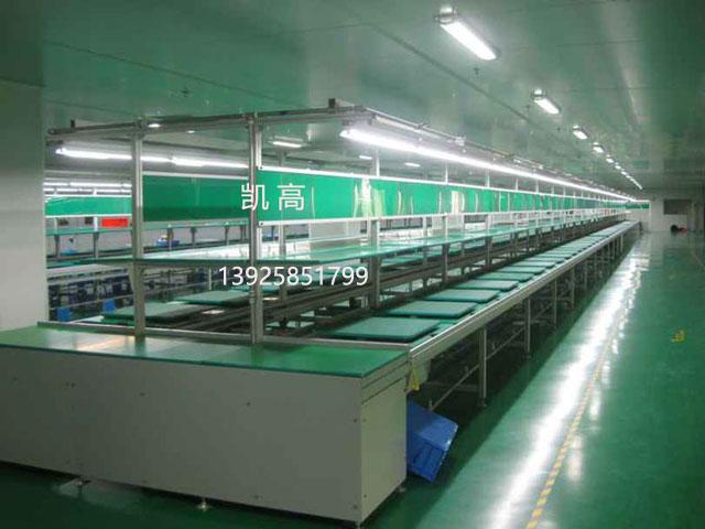 深圳音箱组装线 双层工装板组装线