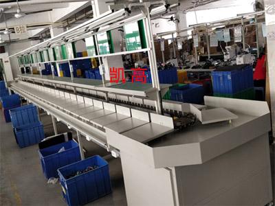 台车生产线定制生产车间