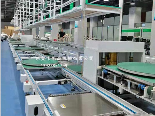 扫地机器人组装生产线