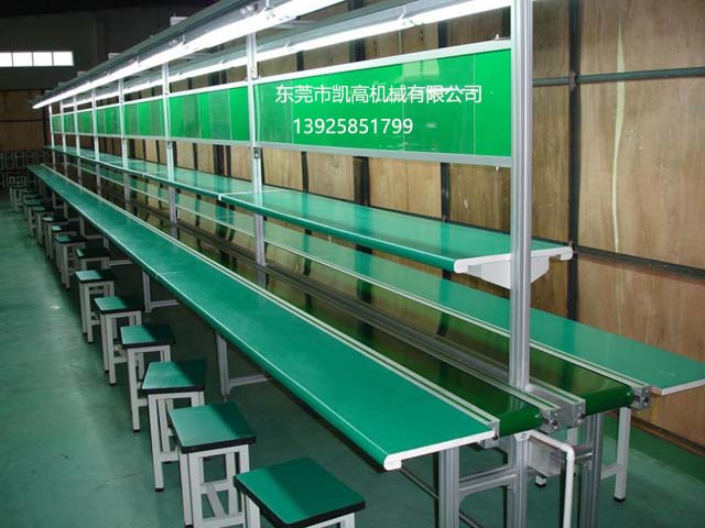深圳电子电器装配流水线