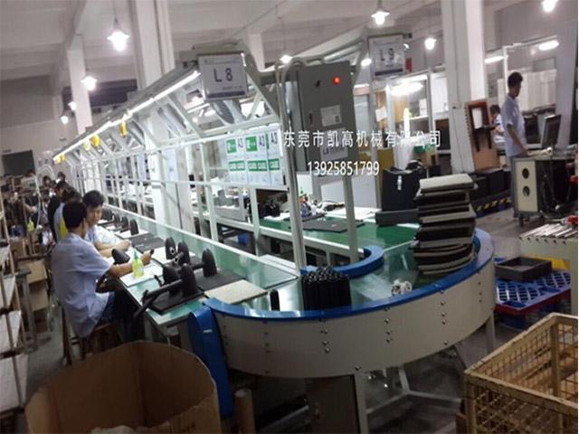 东莞电子装配生产线