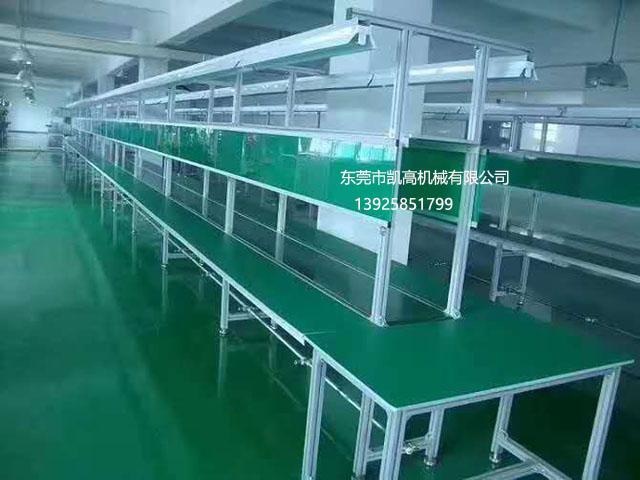 铝材长条台板装配流水线