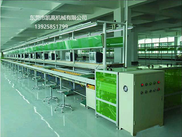 惠州电脑显示屏倍速链组装老化线