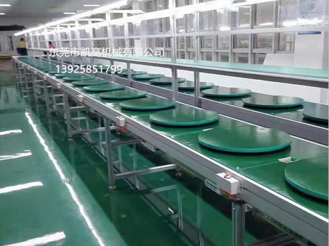 双层工装板水平循环组装线 倍速链输送线