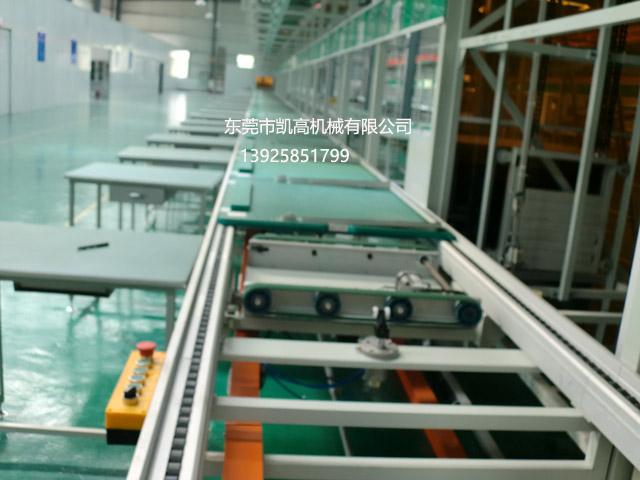 大屏幕彩色电视机组装生产线