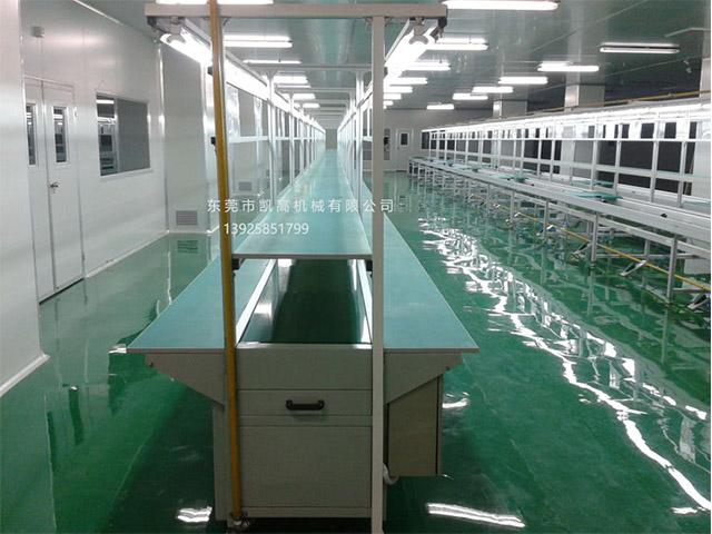 东莞全铝材双边长条台流水线