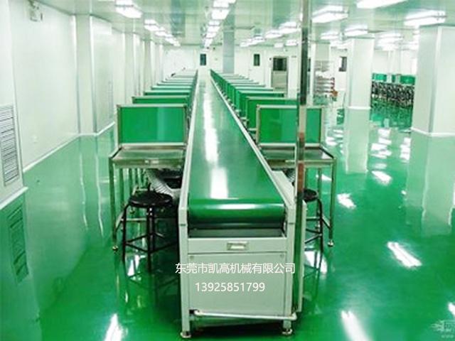 惠州防静电皮带装配线厂家
