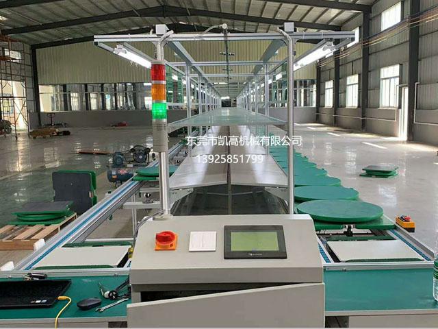 平面循环组装生产线