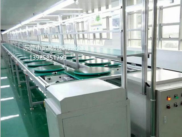 双层工装板倍速链装配组装线