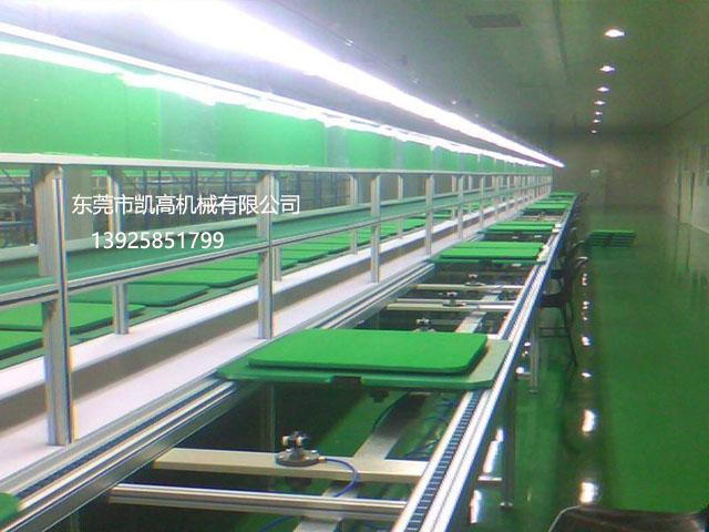 非标定制LED倍速链平面循环组装线