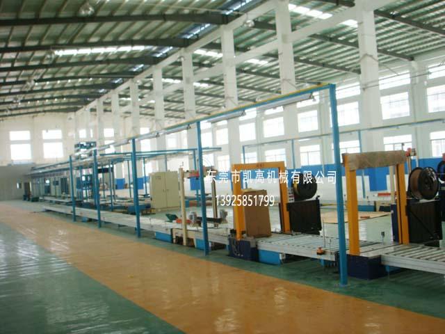大型滚筒包装生产线