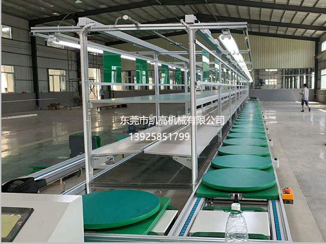 双层工装板环形组装生产线
