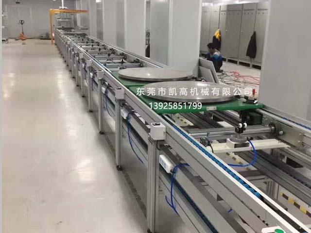 惠州双层工装板上下循环组装线