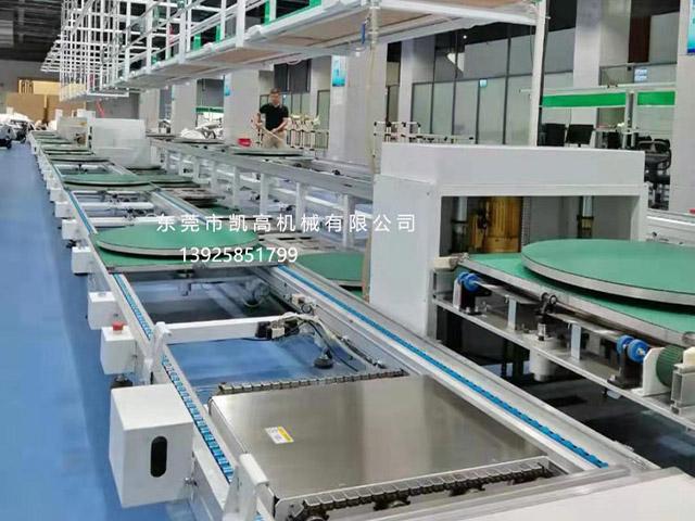 浙江扫地机器人组装生产线