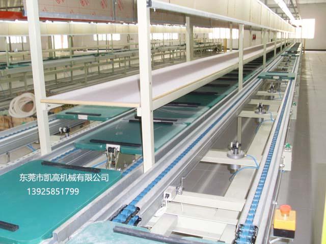深圳三列式倍速链组装线