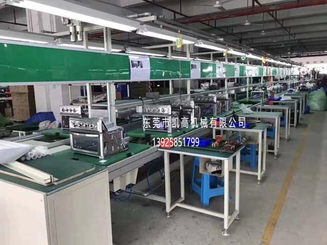 浙江小区巡逻机器人组装生产线