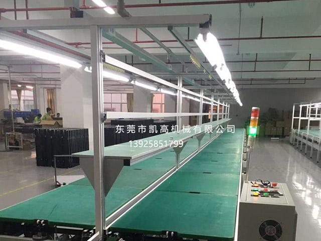 中山电器装配组装线