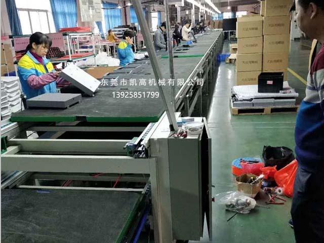 深圳大液晶显示屏装配组装线