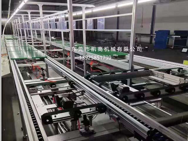 小区巡逻机器人生产线