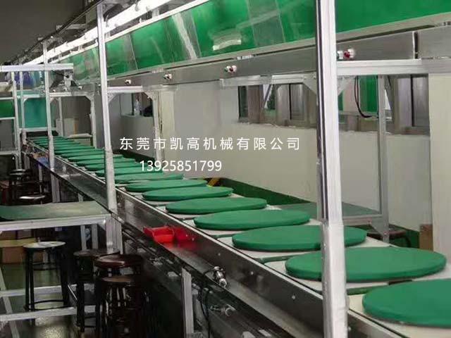广东省东莞来福轮组装线