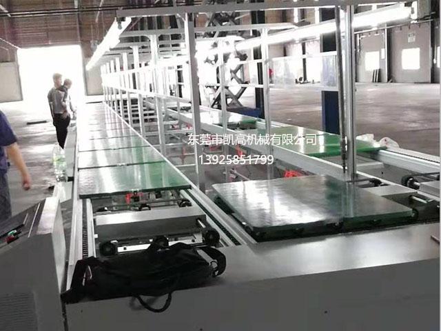 东莞倍速链自动装配线