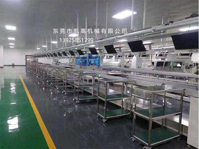 广东省马达组装线